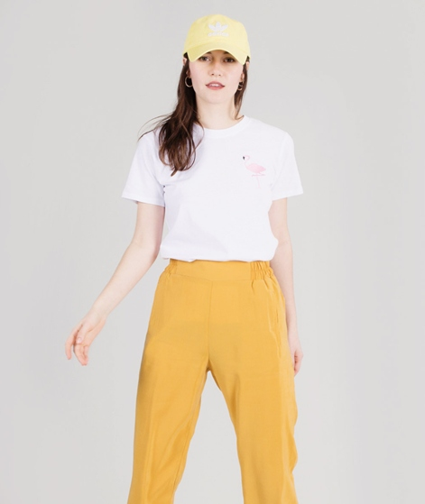 POP COPENHAGEN Flamingo T-Shirt white