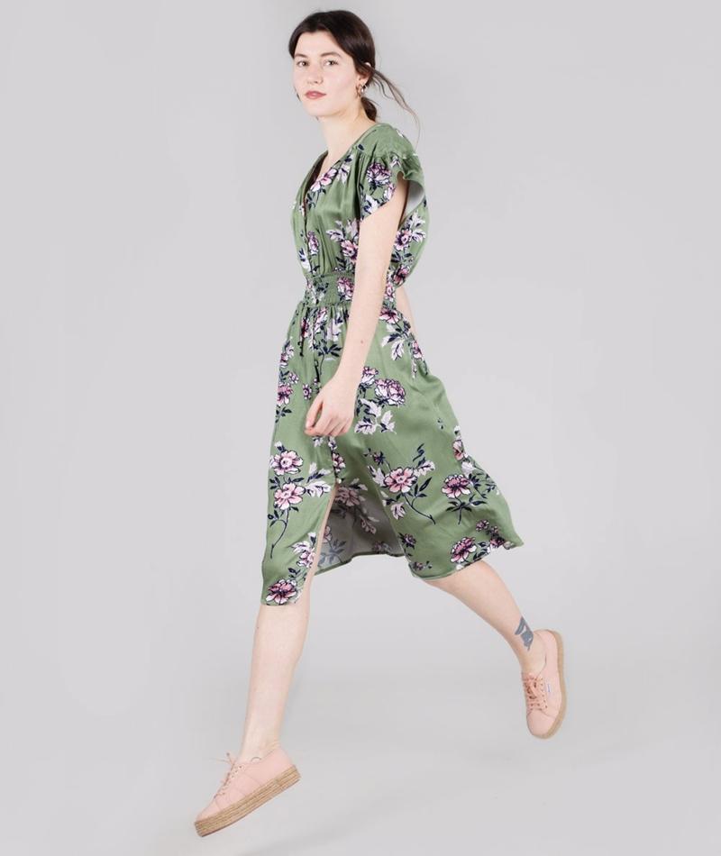 MINKPINK Wanderer Midi Kleid multi