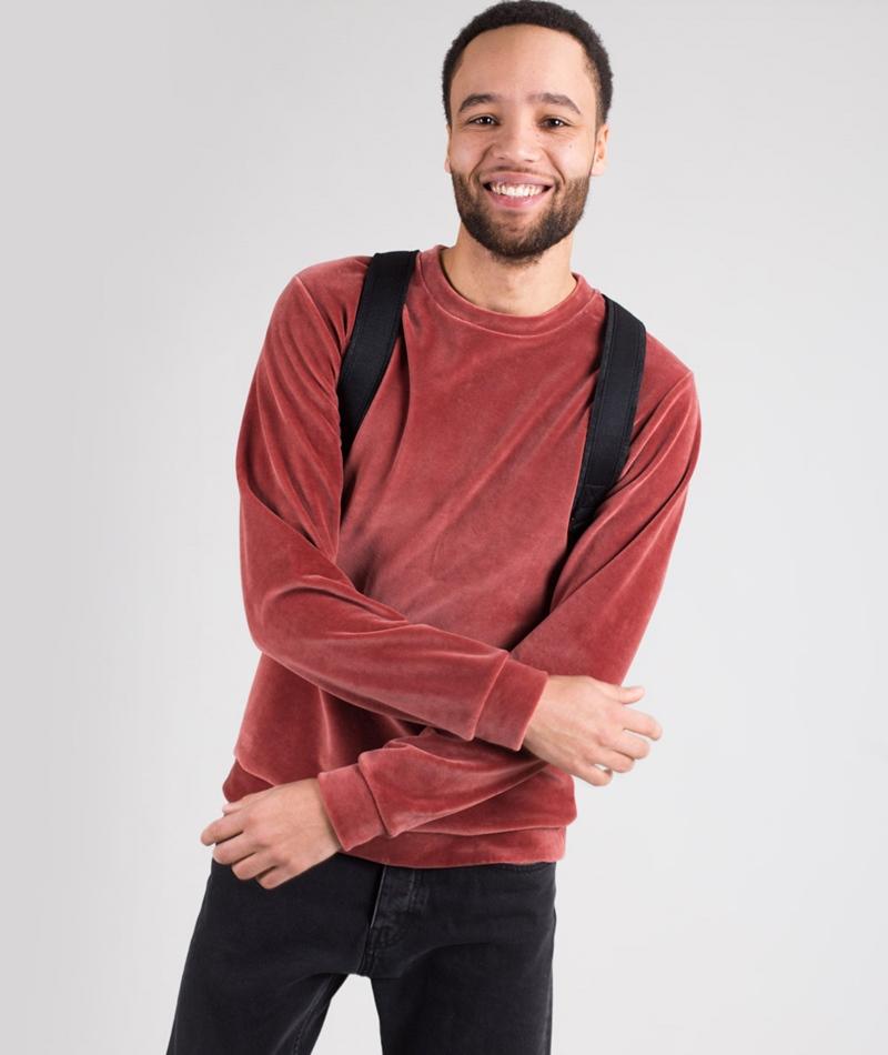 KAUF DICH GLÜCKLICH Sweater rusty red