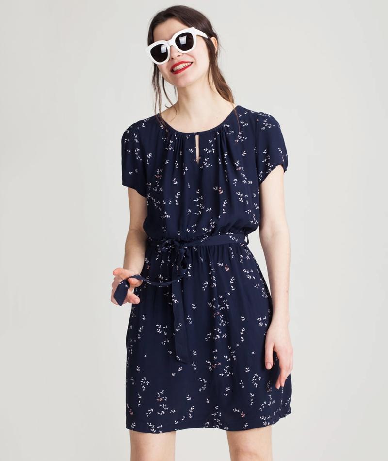 MINIMUM Amarante Kleid dress blue