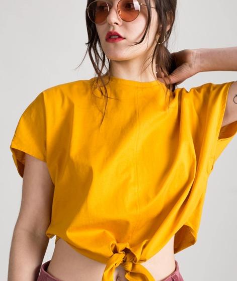 KAUF DICH GLÜCKLICH Esta T-Shirt gelb