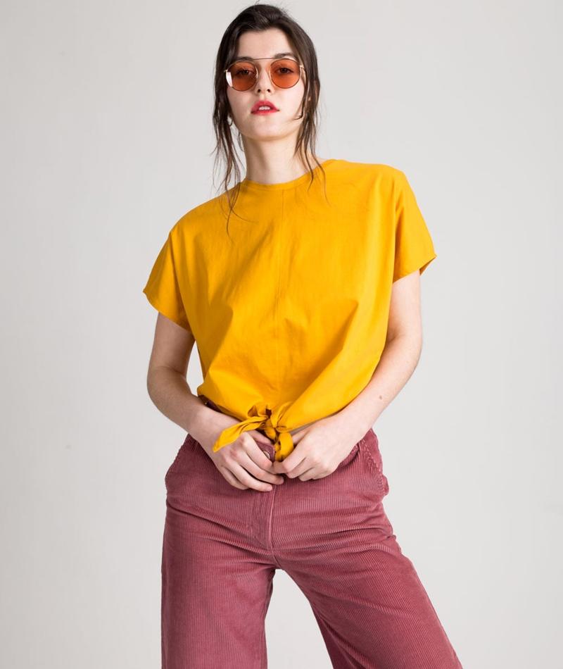 KAUF DICH GLÜCKLICH Esta T-Shirt girasol