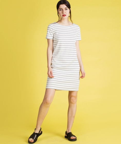 VILA Vitinny New S/S Kleid snow white/ec