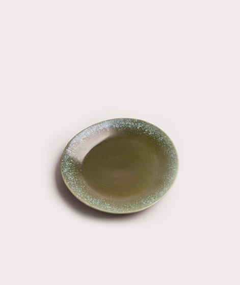 HKLIVING Ceramic Plate green