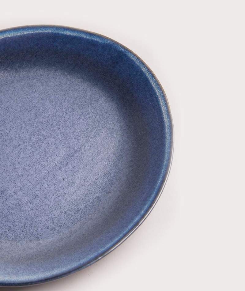HKLIVING Ceramic Plate blue