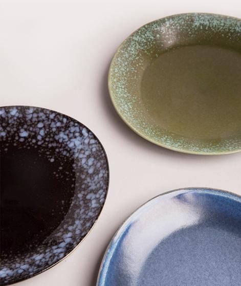 HKLIVING Ceramic Plate black