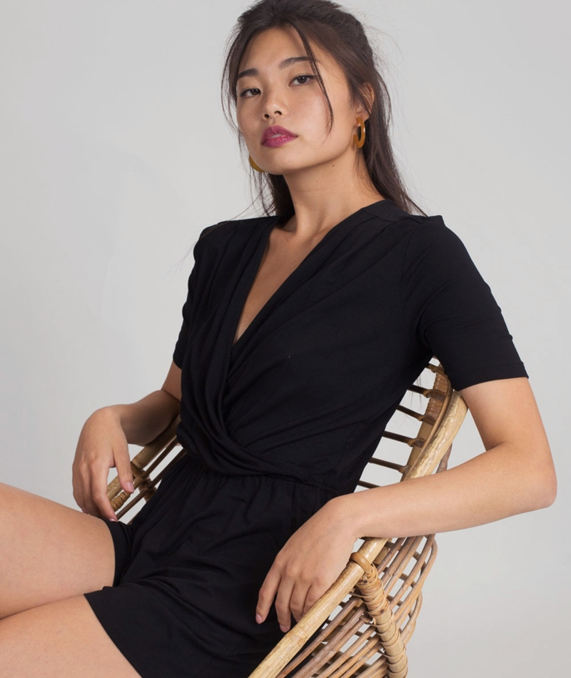 M BY M Pause Gogreen Luxe Overall black