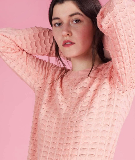 SECOND FEMALE Fabien Pullover dusty pink