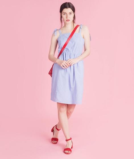 VILA Vipole Kleid light blue denim