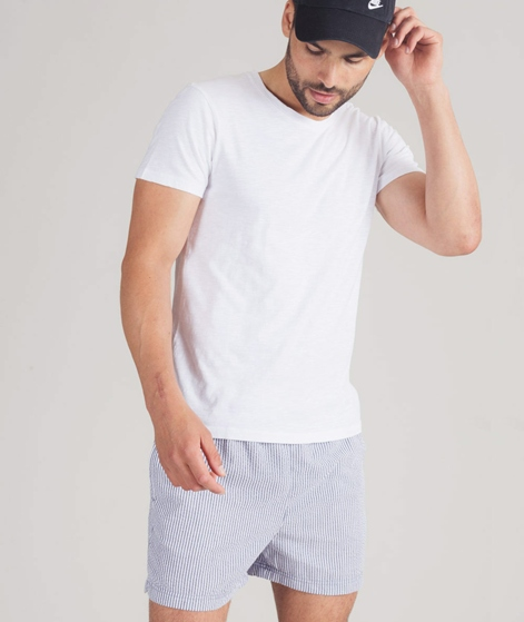 SELECTED HOMME Swim Shorts Seersucker grey