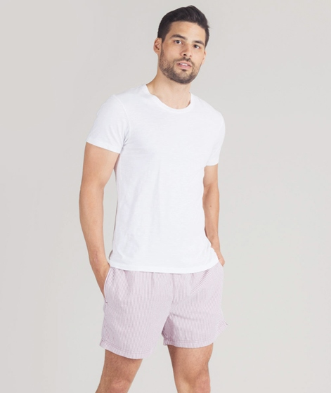 SELECTED HOMME Swim Shorts Seersucker rose