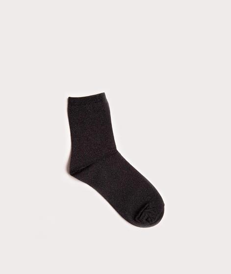 EBBA Socken black/black lurex