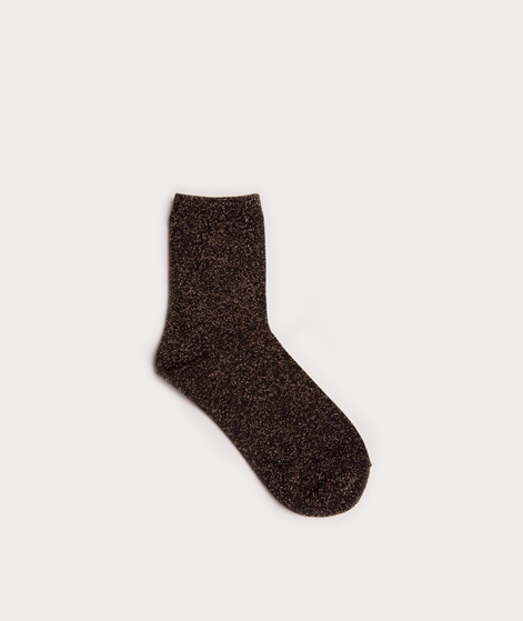 EBBA Socken black/gold lurex