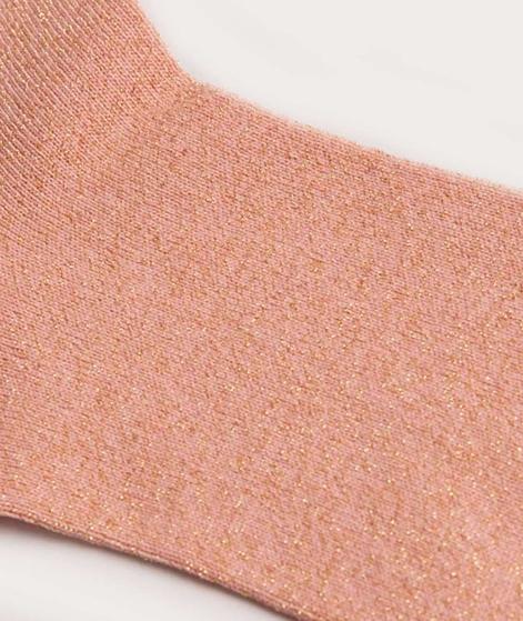 EBBA Socken rose/gold lurex