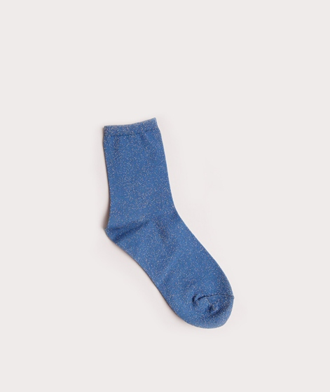 EBBA Socken blue/gold lurex