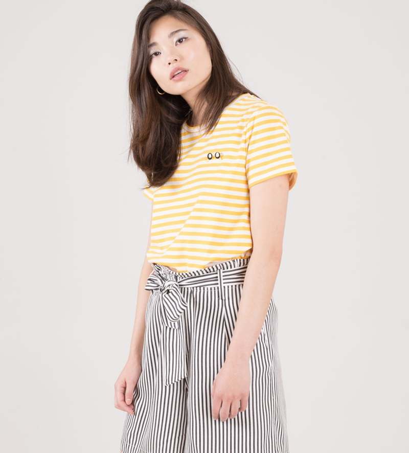 MINIMUM Gabriella T-Shirt spectra yellow