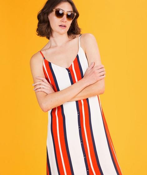 JUST FEMALE Emilia Slip Kleid stripe aop