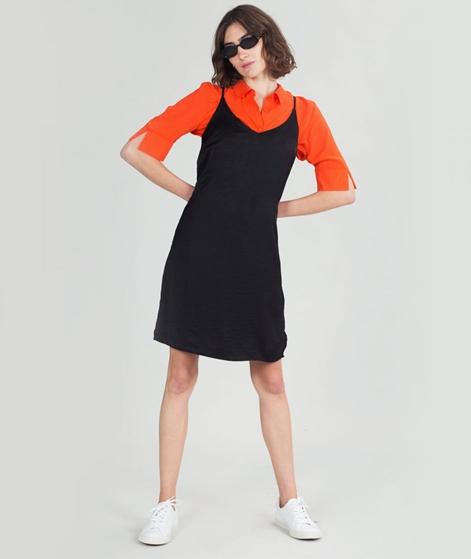 VILA Vicava Singlet Kleid black