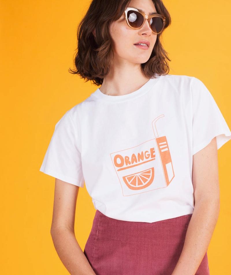 KAUF DICH GLÜCKLICH Suri T-Shirt orange