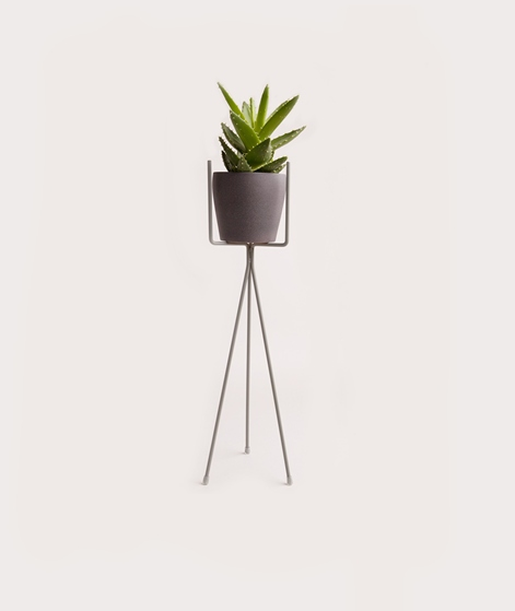 FERM LIVING Plant Stand low dusty green