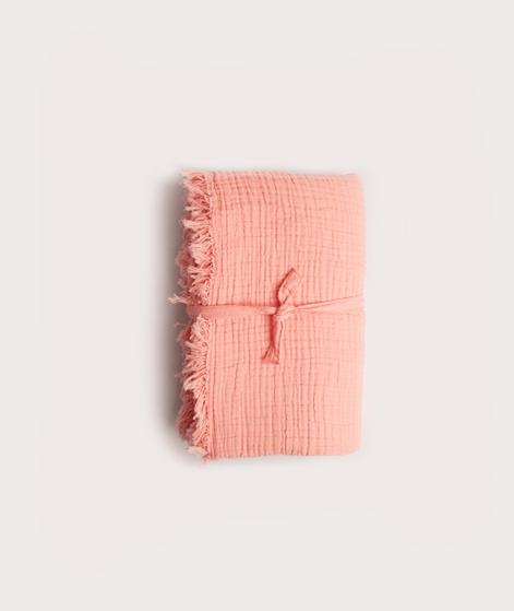 HAY Crinkle Decke peach