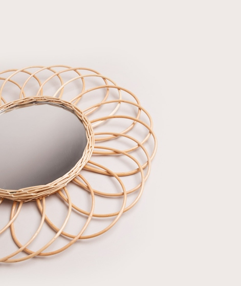 HKLIVING Willow Mirror round