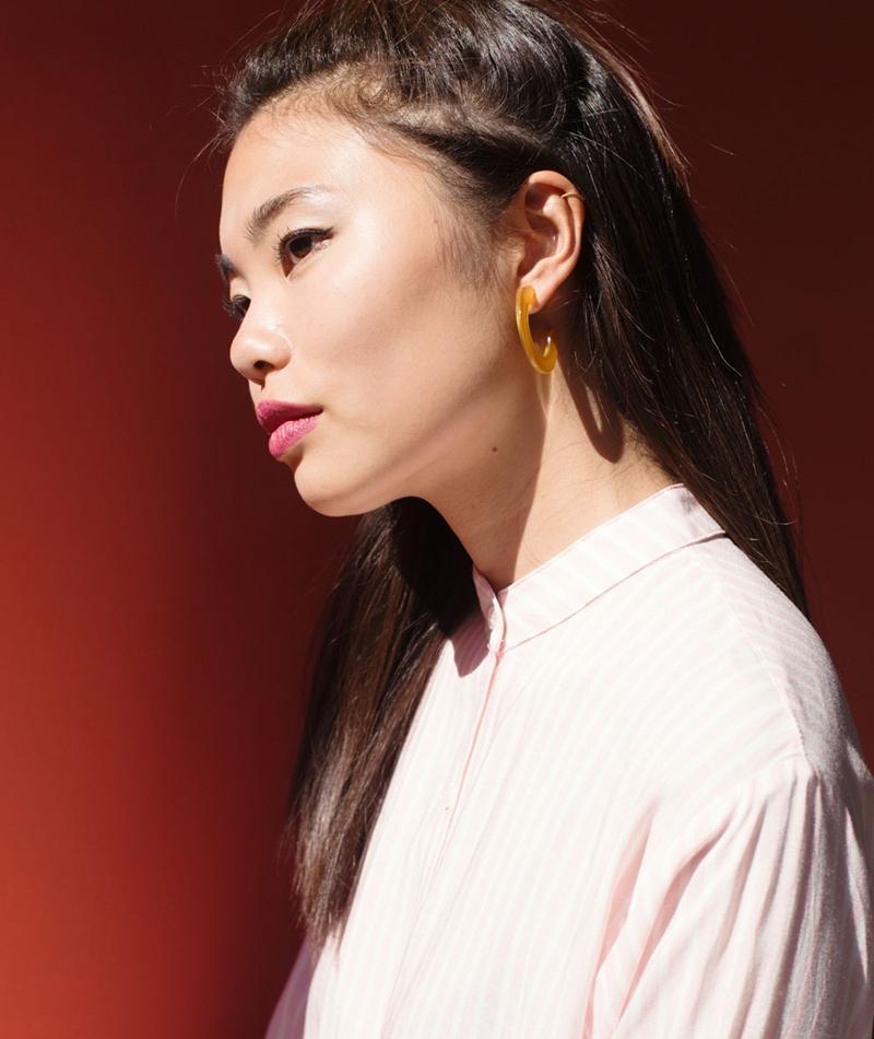 EBBA Ina Ohrringe yellow gold
