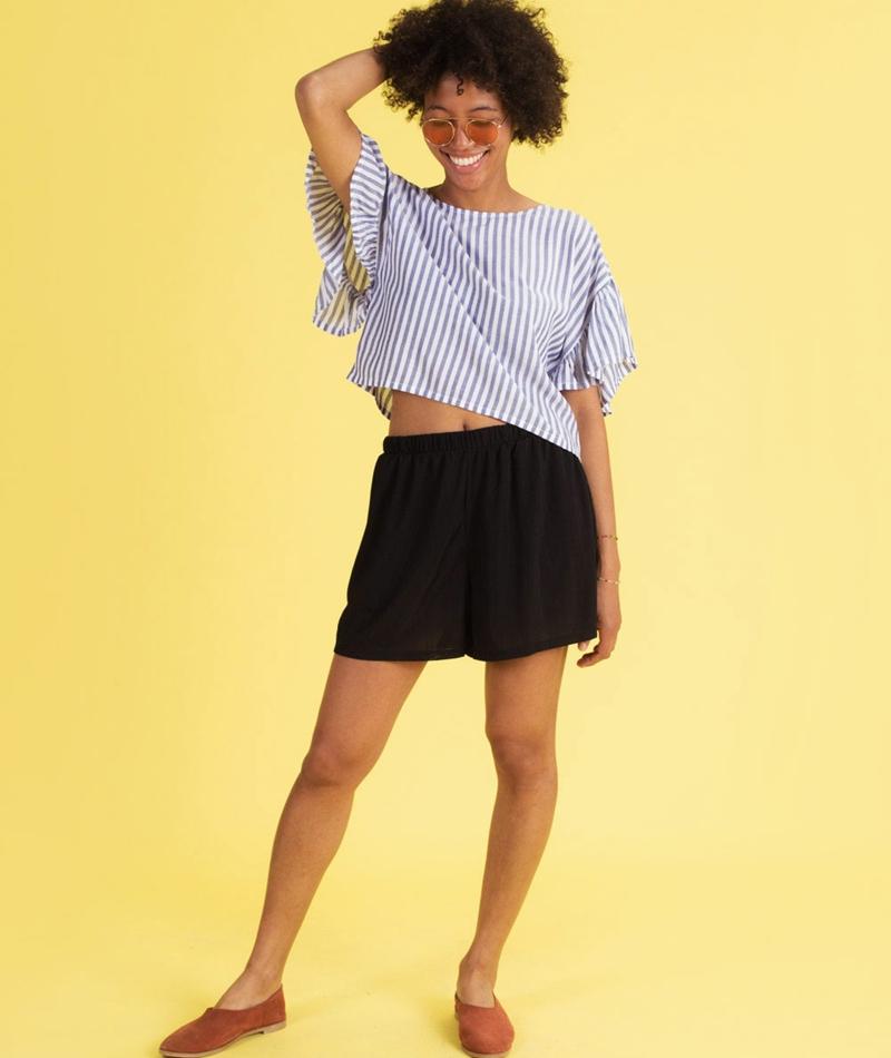 MOSS CPH Marina Li Shorts black