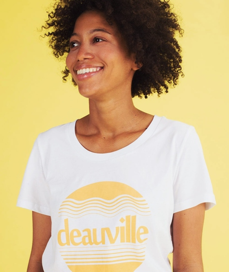 SECOND FEMALE Deauville T-Shirt white