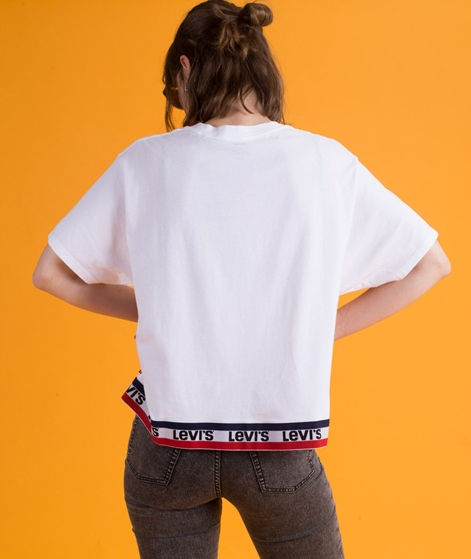 LEVIS Graphic J.V. T-Shirt tape white