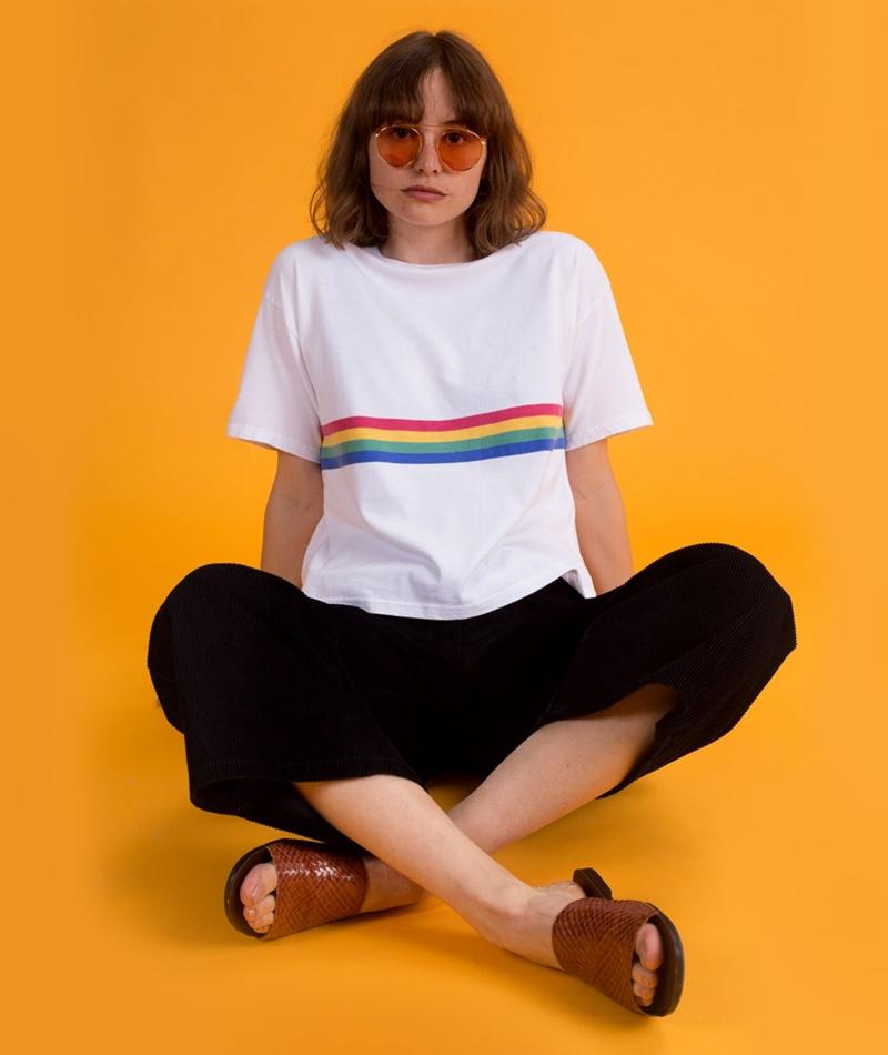 KAUF DICH GLÜCKLICH Kirsten T-Shirt whit