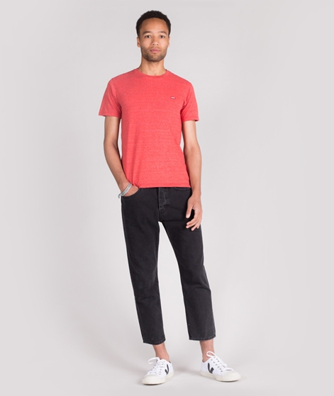 LEVIS SS Original HM T-Shirt tri-blend red
