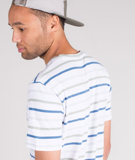 MINIMUM Wilson Y/D Striped T-Shirt white