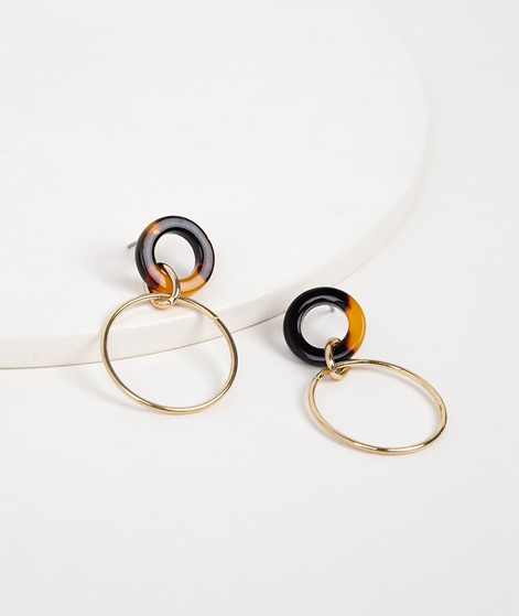 EBBA Ohrringe amber gold