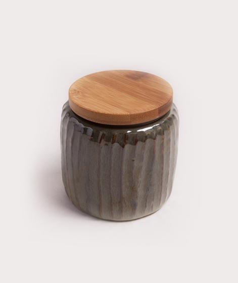MADAM STOLTZ Stoneware Wooden Lid