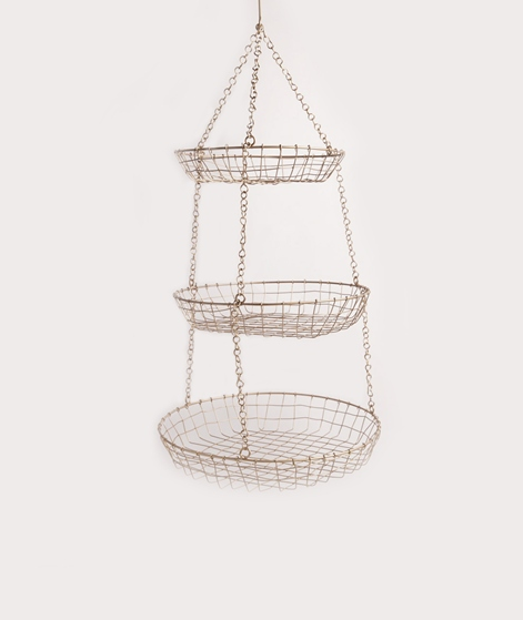 MADAM STOLTZ Hanging Wire basket