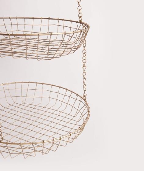 MADAM STOLTZ Hanging Wire basket