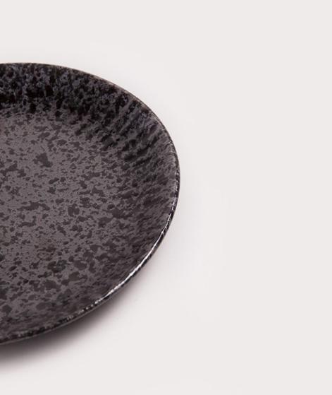 MADAM STOLTZ Stoneware Teller black