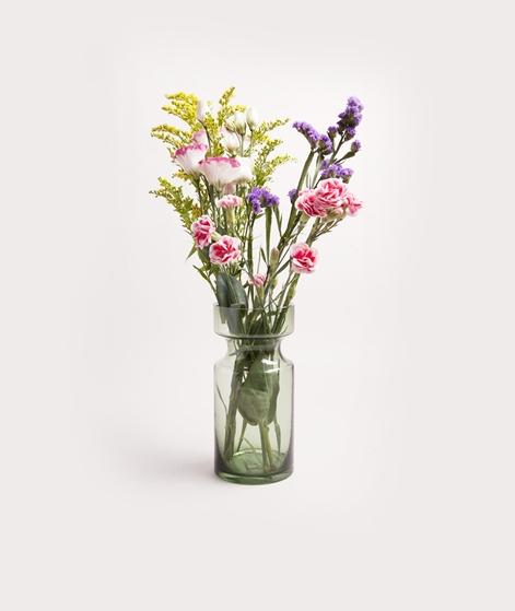 MADAM STOLTZ Glass Vase green