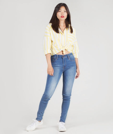 LEVIS 721 High Rise Skinny Jeans dust in the wind