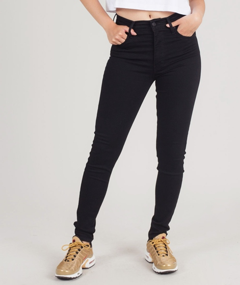 LEVIS Mile High Super Skinny Jeans black