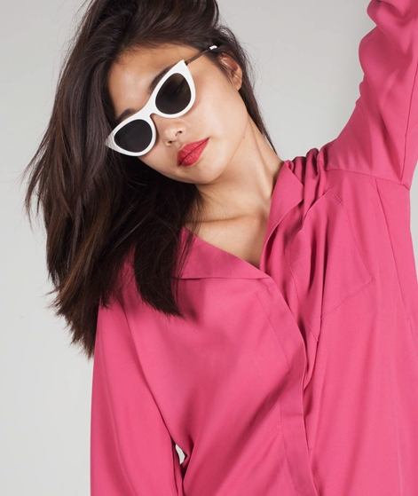 SELECTED FEMME SLFDynella LS Bluse slate
