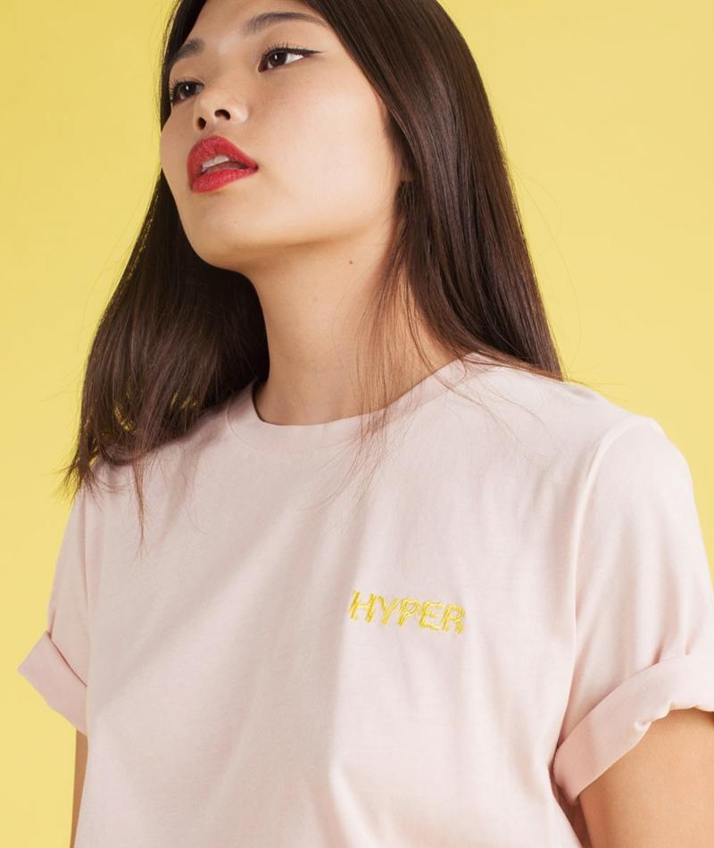 SAMSOE SAMSOE Tia ss T-Shirt hyper rose