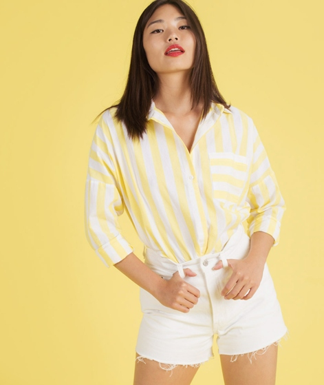 M BY M Terence Bluse lemon sugar stripe