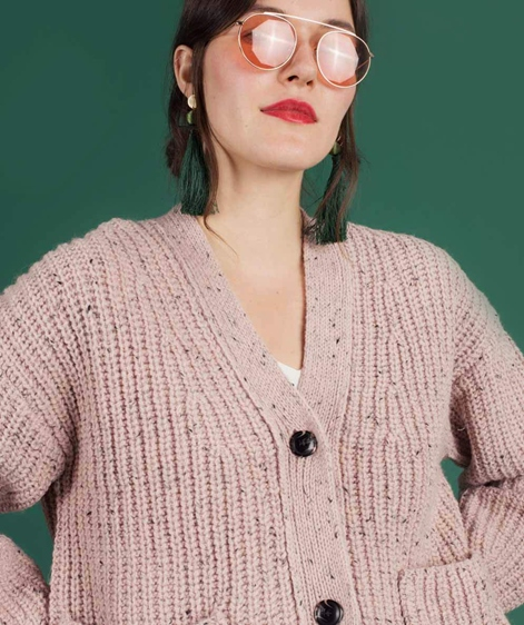SELECTED FEMME SLFMargene Cardigan peach
