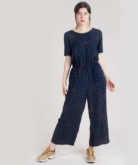 VILA Viesto Jumpsuit total eclipse