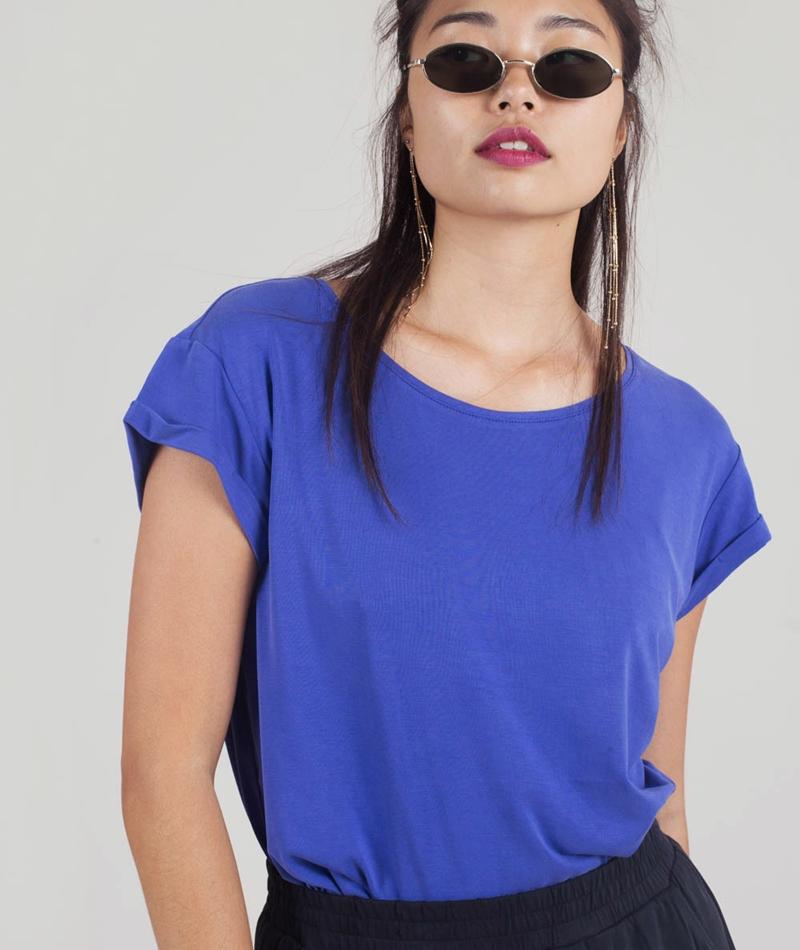 M BY M Nisha Rai T-Shirt royal blue