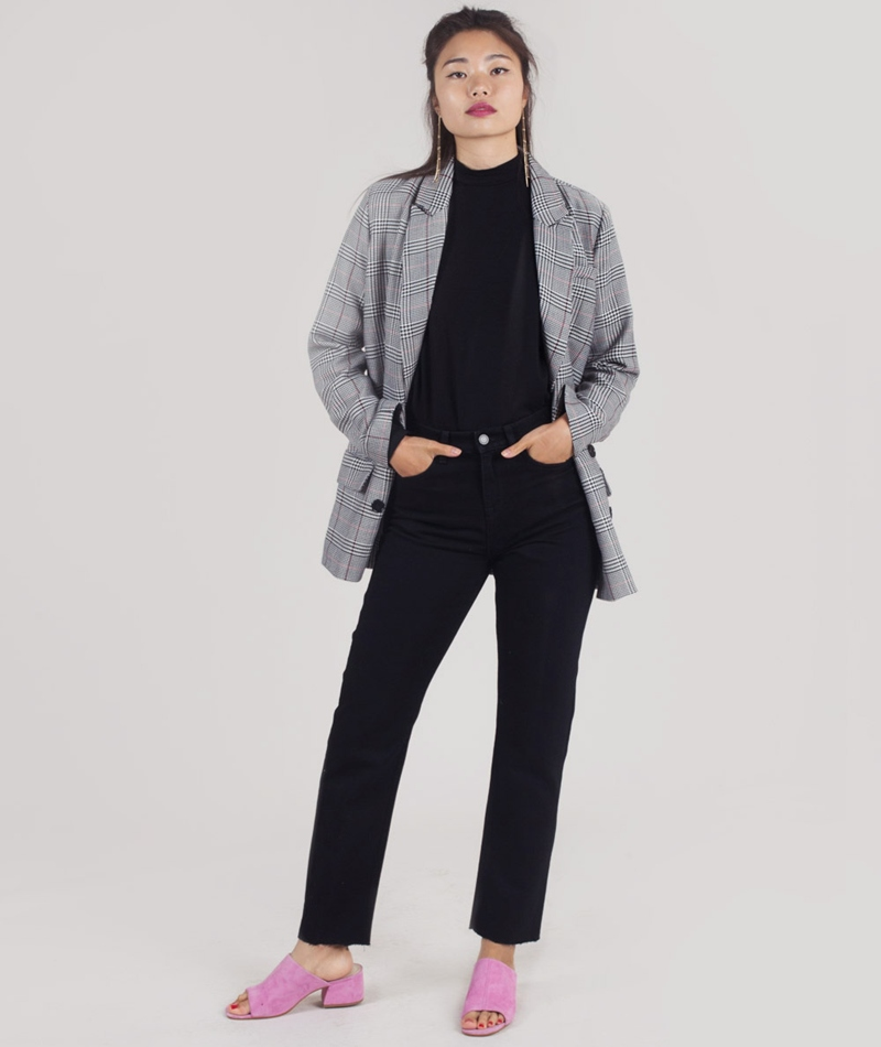 SELECTED FEMME SLFLola Straight Jeans bl