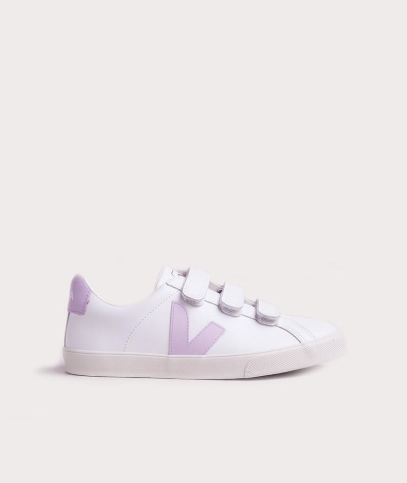 VEJA 3-Lock Sneaker extra white lila