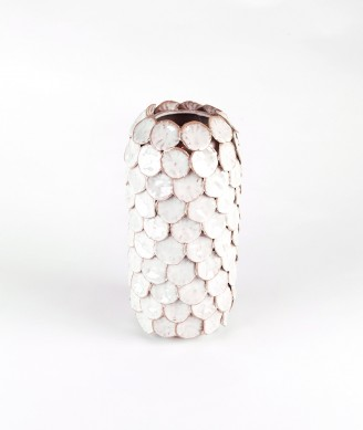 HOUSE DOCTOR Vase Dot weiss